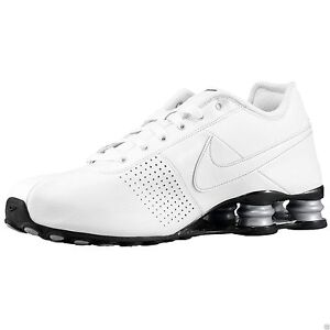 competitive price 67f83 a6279 ... shopping nike shox deliver mens size 10 running shoes white metallic  silver 317547 109 ebay cecfb best solid ...
