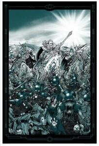 Mondo LOTR Rare Screen print Art by Alan Hynes - A Storm Out Of The Mountains