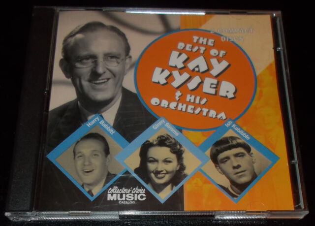 THE BEST OF KAY KYSER & HIS ORCHESTRA-1999 2xCD-GINNY SIMMS / ISH KABIBBLE-MINT