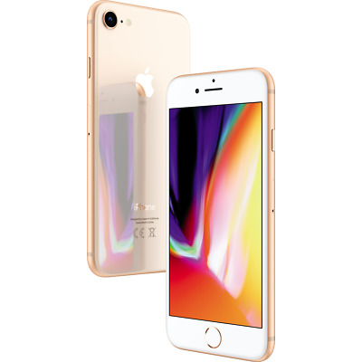 "Apple iPhone 8 256GB Gold LTE iOS Smartphone ohne Simlock 4,7"" Display 12MPX"