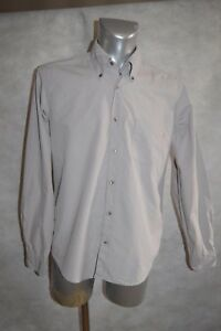 Chemise Hugo Boss Slim Fit Taille M Col 40 Camisa/camicia/dress Shirt 15 3/4