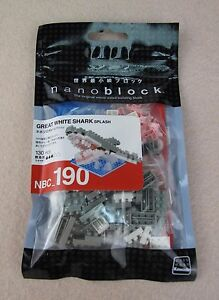 Great White Shark Splash Nanoblock Mini Collection NBC-190