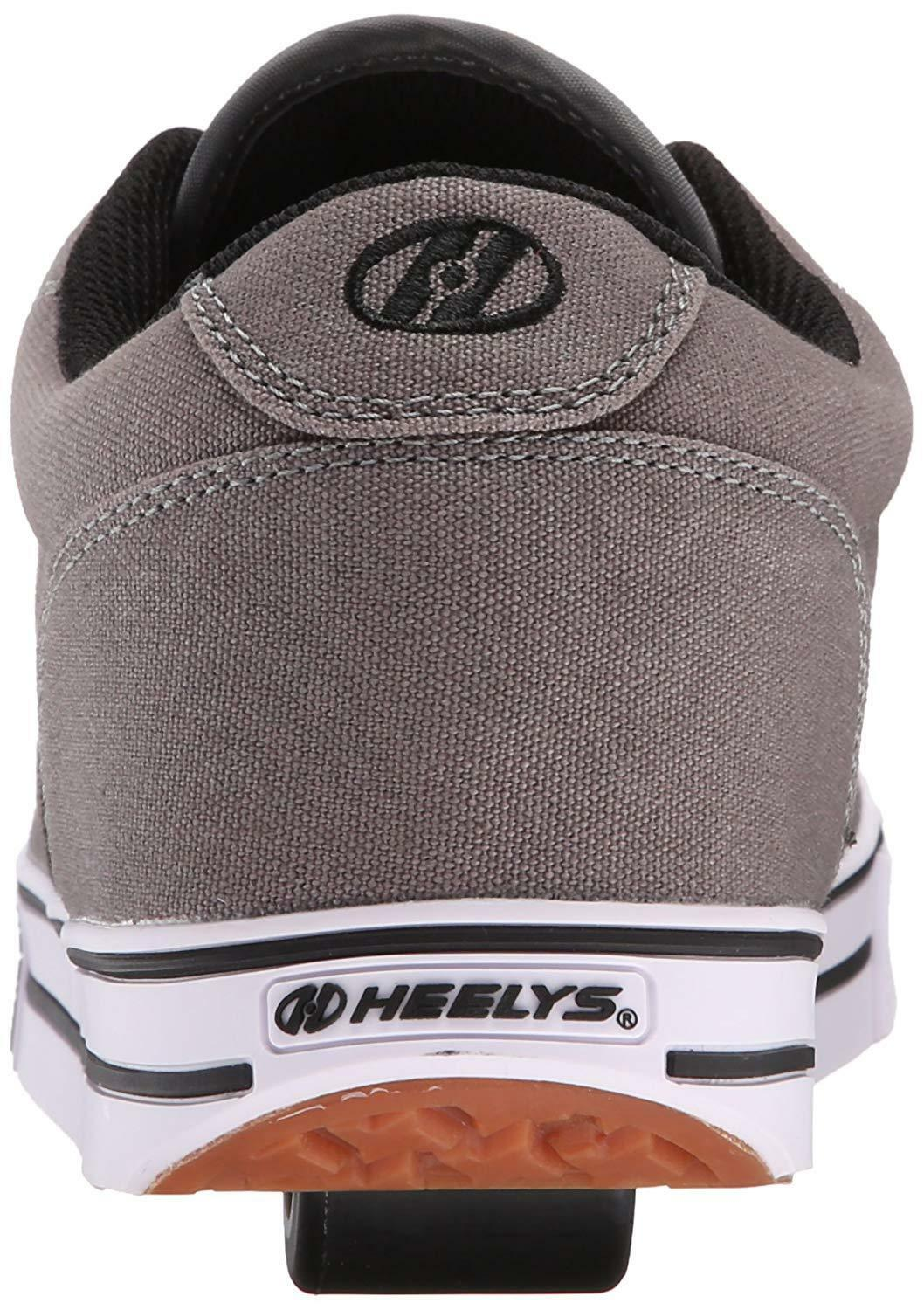 HEELYS MENS LAUNCH GREY CANVAS CANVAS CANVAS 770157M GRY MENS US SIZES 39314f