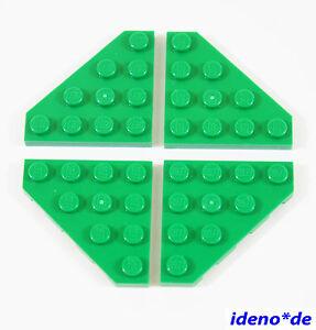 Eck Platte 4 x 4 diagonal schwarz 30503 black 4160025 NEU LEGO Baukästen & Sets LEGO  4 Stk