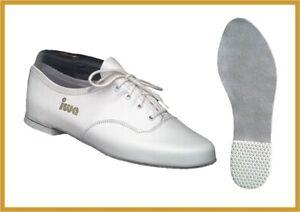new products c12ea 99317 Details zu IWA 900 Jazztanzschuh, Tanzschuh, Ballerina schwarz/weiß Gr. 31  - 43