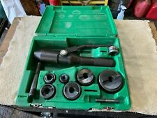 Greenlee 7804sb Quick Draw Hydraulic Punch Driver 12 To 2 Inch Knockout Set