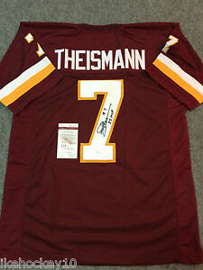 1f0d584d0 Image is loading WASHINGTON-REDSKINS-JOE-THEISMANN-AUTOGRAPHED-SIGNED -INSCRIBED-JERSEY-