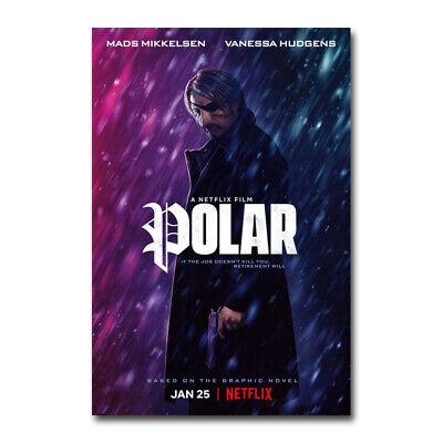 Arctic Movie Fabric Poster Print Mads Mikkelsen 2019 Survival Film 6630