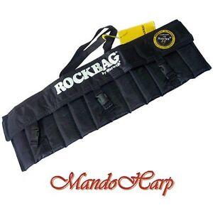 Rockbag-Harmonica-Bag-RB10302B-Gigbag-for-12-Blues-Harmonicas-NEW