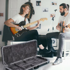 ABS Molded Electric Bass Guitar Case Hardshell Rectangular Strat/tele Style