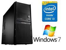 Neu Computer Komplett PC Intel i3 2120 3,30GHz 6GB DDR3 1TB Windows 7
