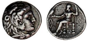 TETRADRACHM-ALEXANDER-TETRADRACMA-ALEJANDRO-Ag-336-323-BC-MACEDONIA-VF-MBC