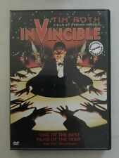 INVINCIBLE DVD (2003) - TIM ROTH - A Film By WARNER HERZOG