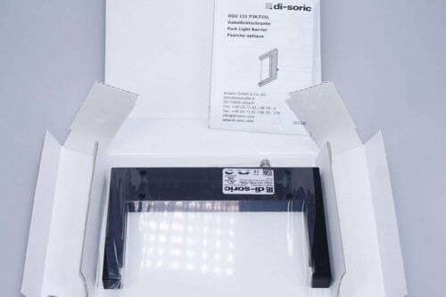 NEU di-soric OGU 121 P3K-TSSL 201339  Gabellichtschranke  OVP