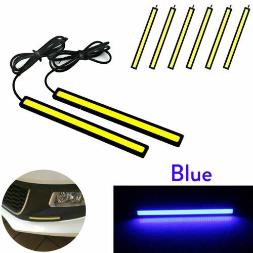 Super Bright COB LED Light Strip For Car Waterproof Driving DRL Fog Lamp 12V ED