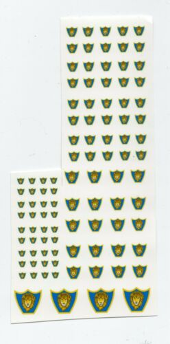 Royal Guards Steiner 1st Battletech miniatures Clan and IS Insignia decals
