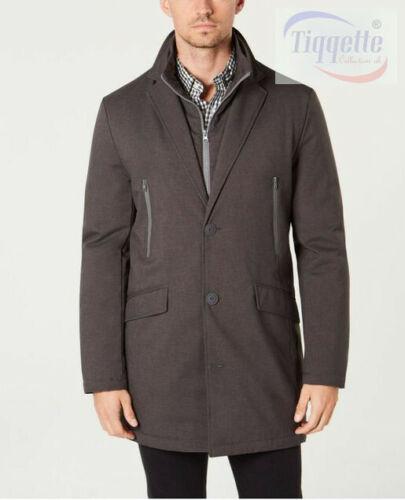 Size 38S Grey Tommy Hilfiger Modern-Fit Robert Raincoat Jacket