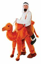 Adult Step In Camel Costume Deluxe Animal Fancy Dress Nativity Outfit New