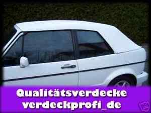 Caricamento dell immagine in corso VW-Golf-1-Cabrio -Tettuccio-Reclinabile-PVC-nero- fa9f551afd5d