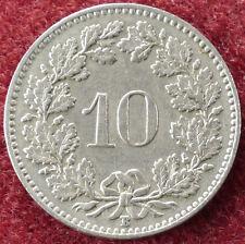 Switzerland 10 Rappen 1957 (D2004)
