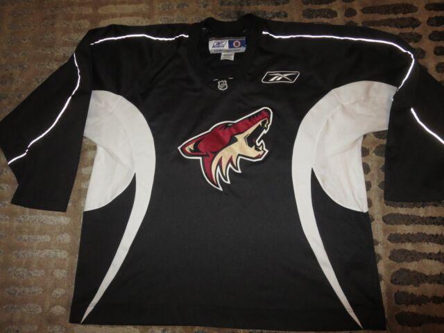d09fcbae2 sweden arizona coyotes nhl reebok sewn black edition jersey 2xl 2x d91f3  4477c