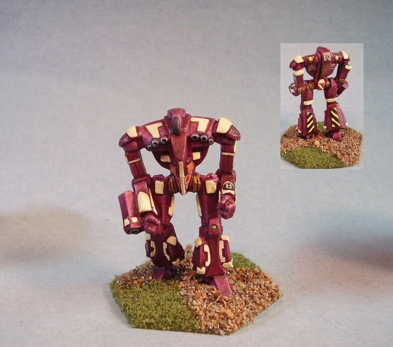 Battletech painted Vixen  battlemech MWC
