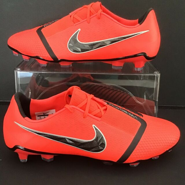 huge selection of c6cec d96e3 Nike Phantom Venom Elite FG ACC Mens 11.5 Soccer Cleats Ao7540 600 Crimson