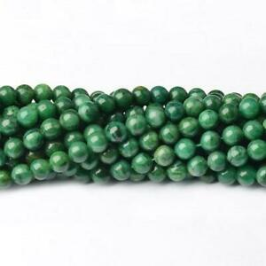 Pcs Gemstones Jewellery Making Malaysian Jade Faceted Round Beads 4mm Blue 95