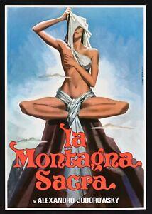 Plakat Die Heiliger Tafelberg Alejandro Jodorowsky Horacio Salinas Rutowsky PP1