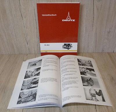 *werkstatthandbuch Deutz Dieselmotor Motor Fl912 F3l912 D4006*