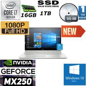 *NEW* HP ENVY 17t/Core i7 10510U/ 16GB RAM / 1 TB SSD /4GB MX250 Graphic/Full HD