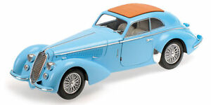 MINICHAMPS-Alfa-Romeo-8C-Lungo-1938-Light-Blue