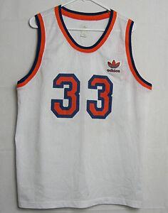 b93a440e Adidas VTG New York Knicks Patrick Ewing #33 White Jersey XL NBA ...