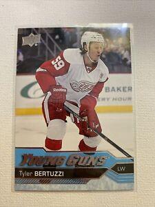 2016 16/17 UD Upper Deck Series 2  Tyler Bertuzzi Young Guns  #471 Red Wings