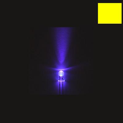 40 Stück F5 5mm Runde Ultra Violet LED UV-Licht 390-395nm lila Lampe
