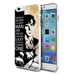 For-Various-Phones-Design-Hard-Back-Case-Cover-Skin-Sherlock-Holmes