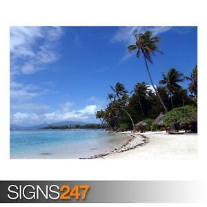 SEA-BEACH-3327-Beach-Poster-Photo-Picture-Poster-Print-Art-A0-A1-A2-A3-A4