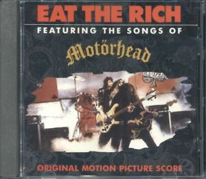 Motorhead - Eat The Rich Soundtrack Cd Ottimo