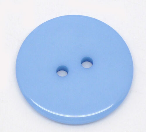 25 Resin Sewing Craft Buttons 23mm Lovely Colours to Choose From Free UK Postage