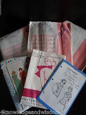 Vintage Pattern Lot 1970s Womens McCall's MUMU Stretch & Sew KANDEL KNITS uncut