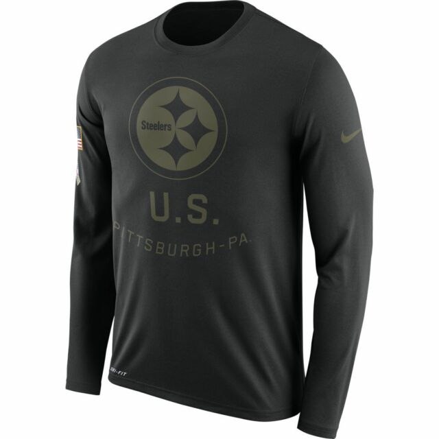 separation shoes ed5d7 80cc1 Nike Pittsburgh Steelers 2018 Salute to Service Legend T-shirt Mens Size XXL