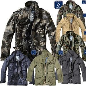 Brandit-m65-standard-2in1-caballeros-otono-invierno-chaqueta-Parka-chaqueta-militar-nuevo