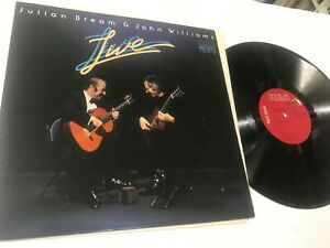 Julian-Bream-amp-John-Williams-2-Lps-Live-Jazz-Record-lp-original-vinyl-album