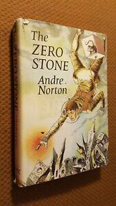 The-Zero-Stone-by-Andre-Norton-1969-Hardcover-w-DJ-c-1968-RARE-3rd-printin