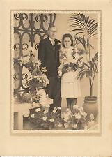 Photo ancienne de mariage le 4 novembre 1944 à Paris