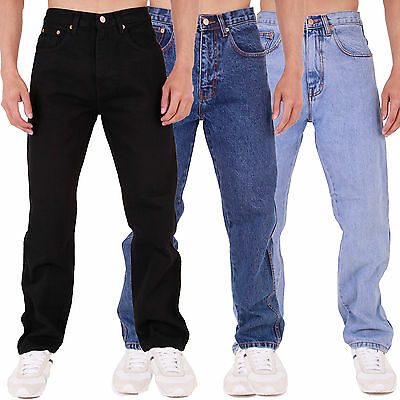 Mens Aztec Jeans Heavy Duty Workwear Basic Straight Regular Fit 28-60 In 6 Legs Duftendes Aroma