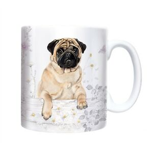 Cute Pug Dog  Mug - New - Boxed - Great Gift for a Dog Lover - FREE Postage