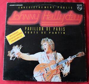 Johnny-Hallyday-live-Pavillon-de-Paris-1979-2LP-33-Tours-titres-au-verso