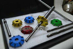 VALVE SEAT CUTTERS CARBIDE TIPPED FAST /& ECONOMICAL VALVE SEAT RESTORATION SYS