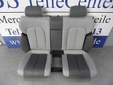 Mercedes CLK W208 Rückbank Rücksitzbank Rücksitz Lederausstattung Leder grau